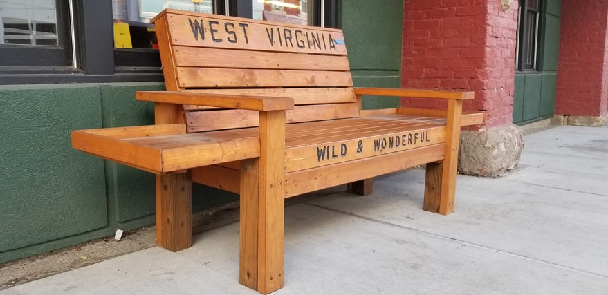 Wild and Wonderful bench